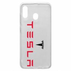 Чехол для Samsung A20 Tesla