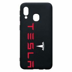 Чехол для Samsung A40 Tesla