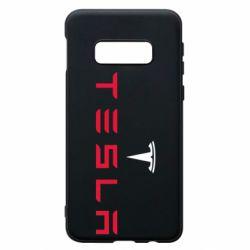 Чехол для Samsung S10e Tesla
