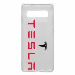 Чехол для Samsung S10 Tesla