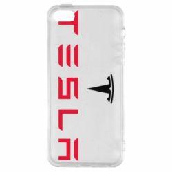 Чехол для iPhone5/5S/SE Tesla