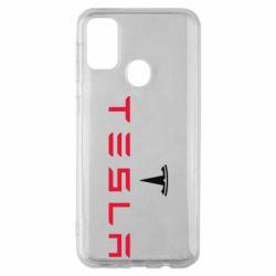 Чехол для Samsung M30s Tesla