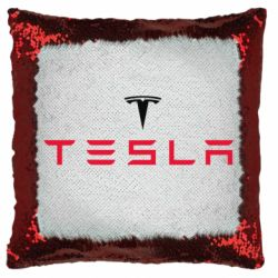Подушка-хамелеон Tesla