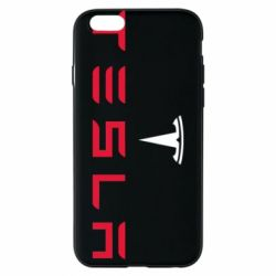 Чехол для iPhone 6/6S Tesla