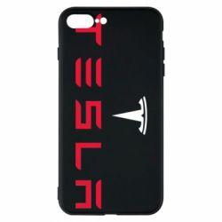 Чехол для iPhone 8 Plus Tesla