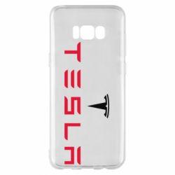 Чехол для Samsung S8+ Tesla