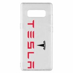 Чехол для Samsung Note 8 Tesla