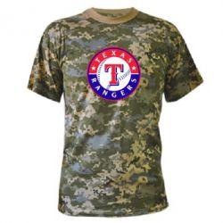 Камуфляжная футболка Texas Rangers