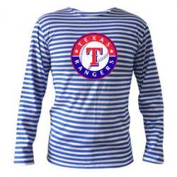 Тельняшка с длинным рукавом Texas Rangers - FatLine