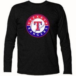 Футболка с длинным рукавом Texas Rangers - FatLine