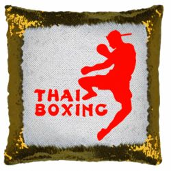 Наклейка Thai Boxing - FatLine