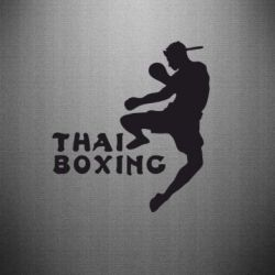 Наклейка Thai Boxing