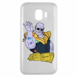 Чохол для Samsung J2 2018 Thanos Art