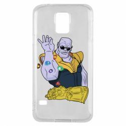 Чохол для Samsung S5 Thanos Art