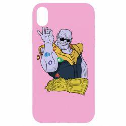 Чохол для iPhone XR Thanos Art