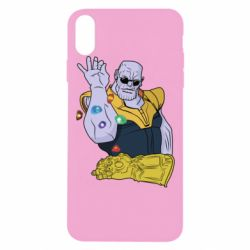 Чохол для iPhone Xs Max Thanos Art