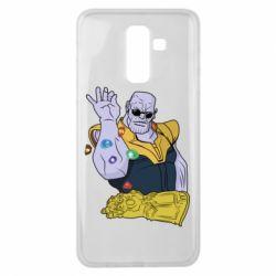 Чохол для Samsung J8 2018 Thanos Art