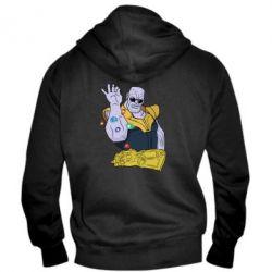 Чоловіча толстовка на блискавці Thanos Art