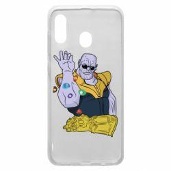Чохол для Samsung A20 Thanos Art