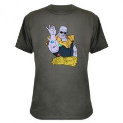 Камуфляжна футболка Thanos Art
