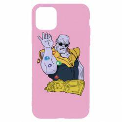 Чохол для iPhone 11 Pro Max Thanos Art