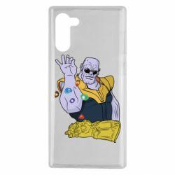 Чохол для Samsung Note 10 Thanos Art