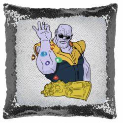 Подушка-хамелеон Thanos Art
