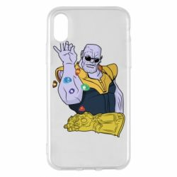 Чохол для iPhone X/Xs Thanos Art