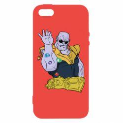 Чохол для iphone 5/5S/SE Thanos Art