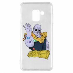 Чохол для Samsung A8 2018 Thanos Art