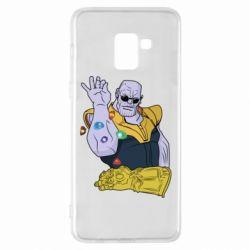 Чохол для Samsung A8+ 2018 Thanos Art