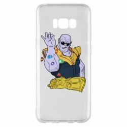 Чохол для Samsung S8+ Thanos Art