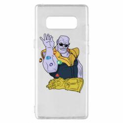 Чохол для Samsung Note 8 Thanos Art