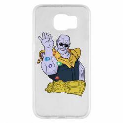 Чохол для Samsung S6 Thanos Art