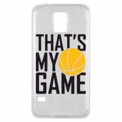 Чехол для Samsung S5 That's My Game - FatLine
