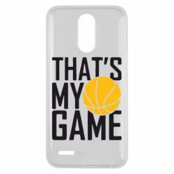 Чехол для LG K10 2017 That's My Game - FatLine