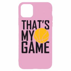 Чохол для iPhone 11 that's My Game