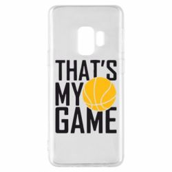 Чехол для Samsung S9 That's My Game - FatLine