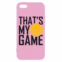 Чехол для iPhone5/5S/SE That's My Game - FatLine