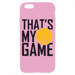 Чехол для iPhone 6/6S That's My Game - FatLine