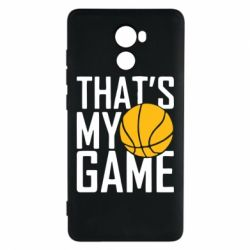 Чехол для Xiaomi Redmi 4 That's My Game - FatLine