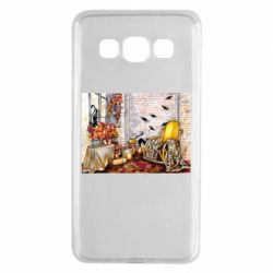 Чохол для Samsung A3 2015 The atmosphere of Halloween in the house