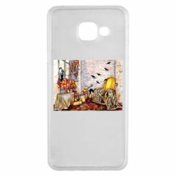 Чохол для Samsung A3 2016 The atmosphere of Halloween in the house