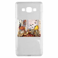 Чохол для Samsung A5 2015 The atmosphere of Halloween in the house