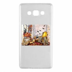 Чохол для Samsung A7 2015 The atmosphere of Halloween in the house