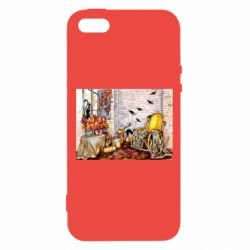 Чохол для iphone 5/5S/SE The atmosphere of Halloween in the house