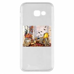 Чохол для Samsung A5 2017 The atmosphere of Halloween in the house
