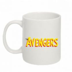 Кружка 320ml The Avengers Logo - FatLine