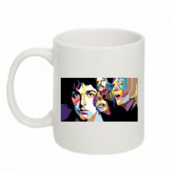 Кружка 320ml The Beatles Art