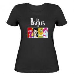 Женская футболка The Beatles Logo - FatLine